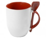 SPOON MUG BROWN