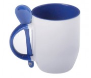 SPOON MUG BLUE