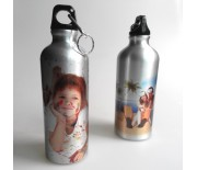 ALUMINUM WATER BOTTLE SILVER
